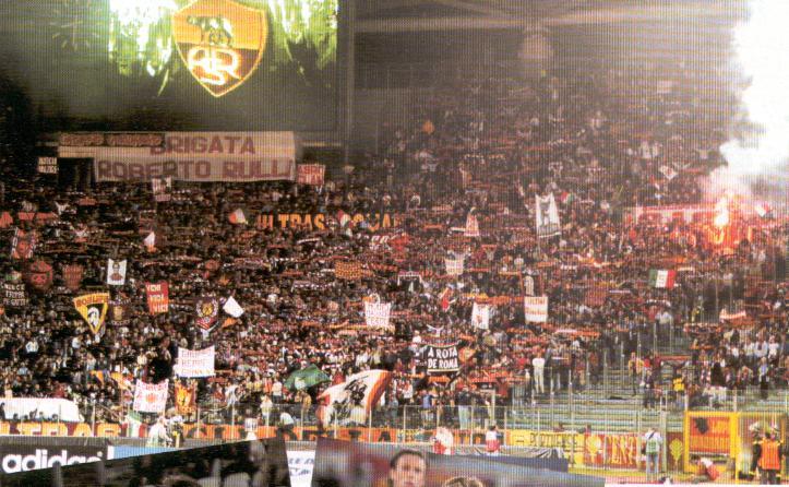 Inter Roma Supercoppa 2010 Coro Roma alè Roma alè