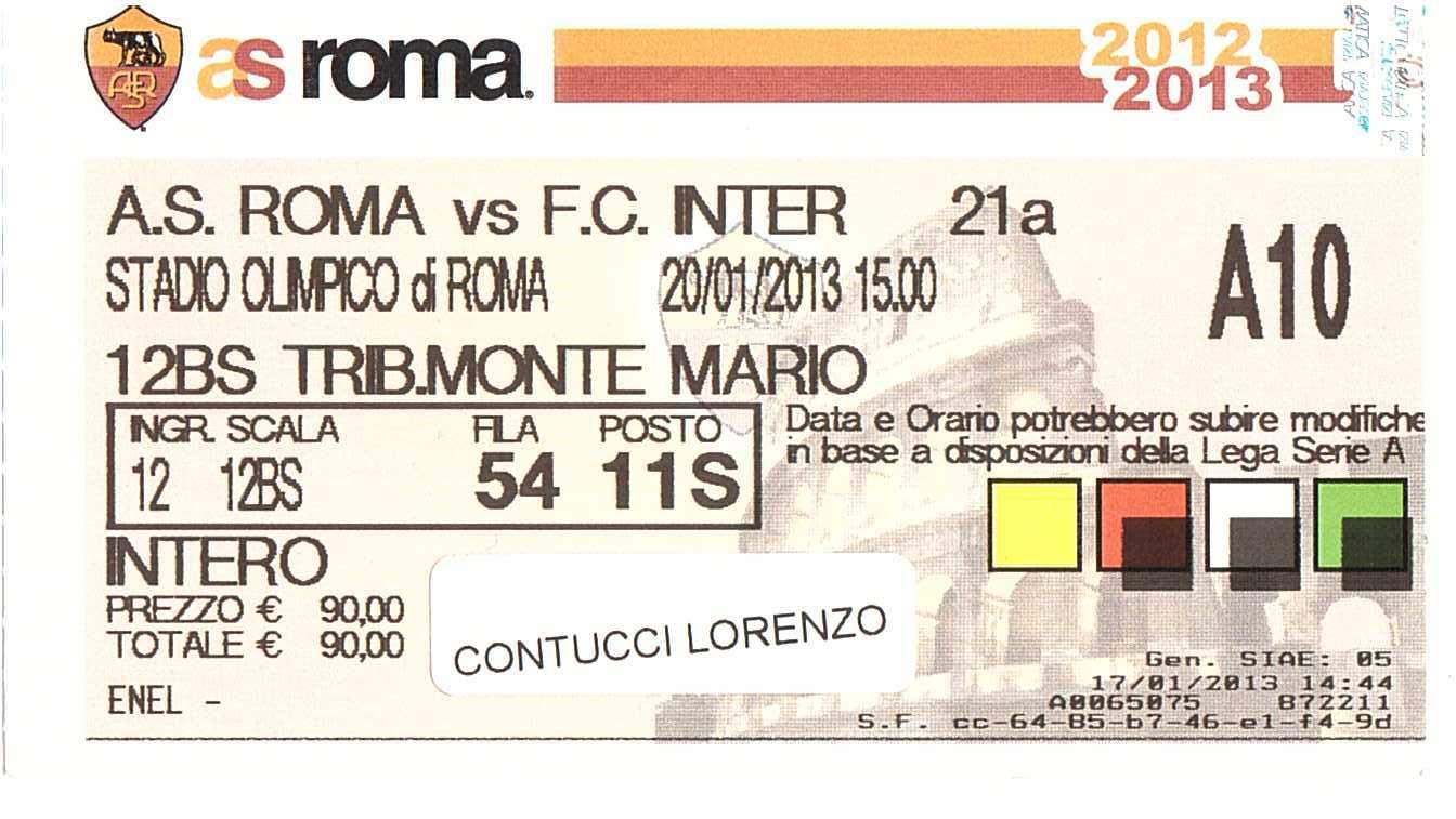biglietti milan udinese 30 novembre 1989 - photo#6