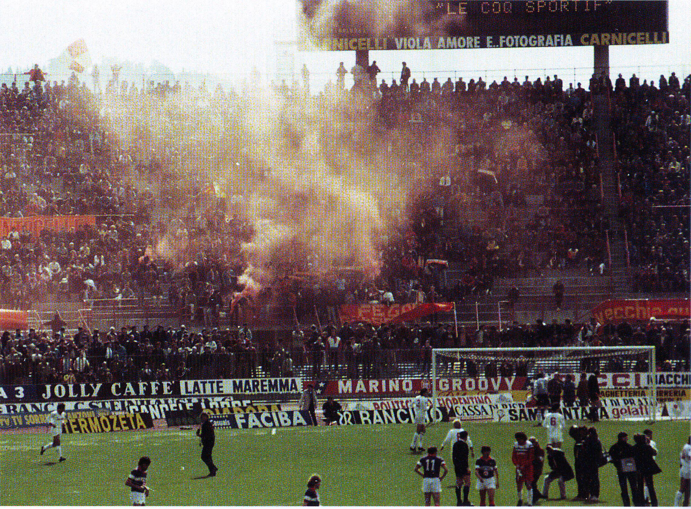 1984/85 Fiorentina Roma