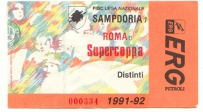 Supercoppa, Roma/Sampdoria