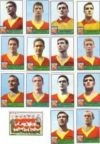 Figurine Panini, AS Roma 1963/64
