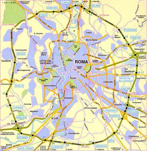 Cartina Roma Stadio Olimpico.Stadio Olimpico Roma