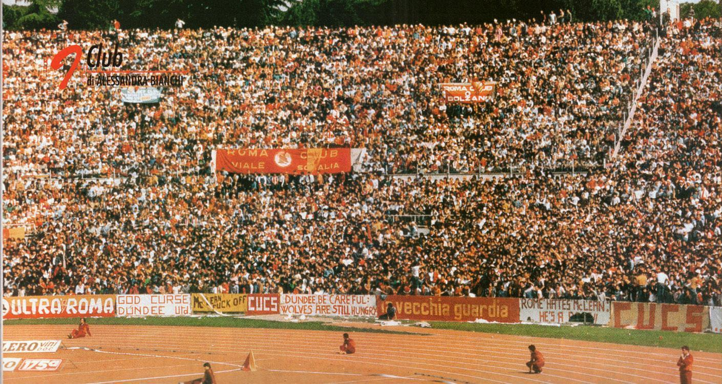 The crowd at Stadio Olimpico