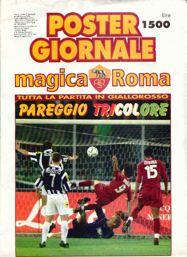 Poster giornale 2000/01