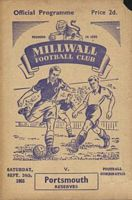 Millwall/Portsmouth 1955